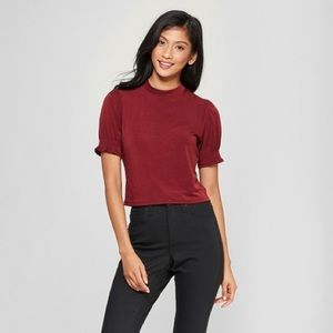Xhilaration Puff Sleeve Top